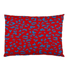 Blue Red Space Galaxy Pillow Case (two Sides)