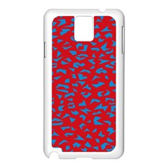 Blue Red Space Galaxy Samsung Galaxy Note 3 N9005 Case (white)