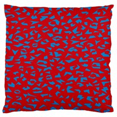 Blue Red Space Galaxy Standard Flano Cushion Case (two Sides)