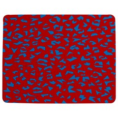 Blue Red Space Galaxy Jigsaw Puzzle Photo Stand (rectangular)
