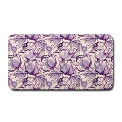 Vegetable Cabbage Purple Flower Medium Bar Mats