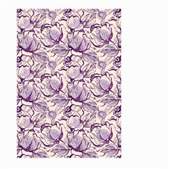 Vegetable Cabbage Purple Flower Large Garden Flag (two Sides)