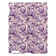 Vegetable Cabbage Purple Flower Apple Ipad 3/4 Hardshell Case