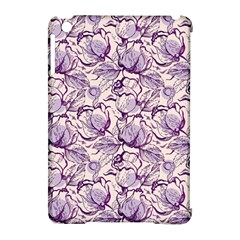 Vegetable Cabbage Purple Flower Apple Ipad Mini Hardshell Case (compatible With Smart Cover)