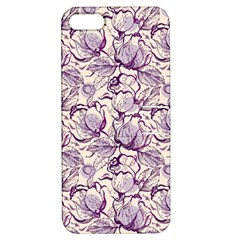 Vegetable Cabbage Purple Flower Apple Iphone 5 Hardshell Case With Stand