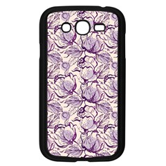 Vegetable Cabbage Purple Flower Samsung Galaxy Grand Duos I9082 Case (black)