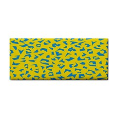 Blue Yellow Space Galaxy Cosmetic Storage Cases