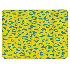Blue Yellow Space Galaxy Samsung Galaxy Tab 7  P1000 Flip Case