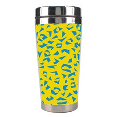 Blue Yellow Space Galaxy Stainless Steel Travel Tumblers