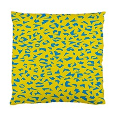 Blue Yellow Space Galaxy Standard Cushion Case (one Side)