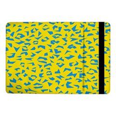 Blue Yellow Space Galaxy Samsung Galaxy Tab Pro 10 1  Flip Case