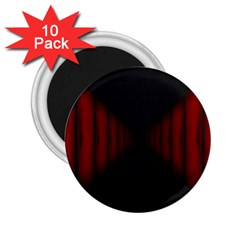 Black Red Door 2 25  Magnets (10 Pack)