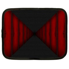 Black Red Door Netbook Case (xl)