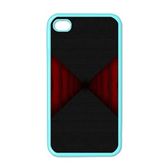 Black Red Door Apple Iphone 4 Case (color)
