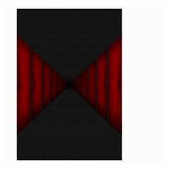 Black Red Door Small Garden Flag (two Sides)