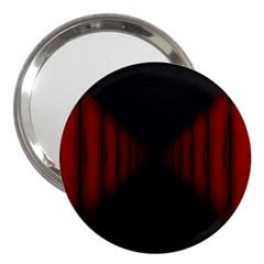 Black Red Door 3  Handbag Mirrors