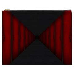 Black Red Door Cosmetic Bag (xxxl)