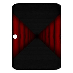 Black Red Door Samsung Galaxy Tab 3 (10 1 ) P5200 Hardshell Case