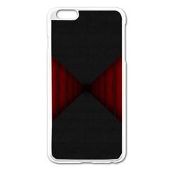 Black Red Door Apple Iphone 6 Plus/6s Plus Enamel White Case