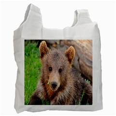 Baby Bear Animals Recycle Bag (one Side)