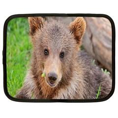 Baby Bear Animals Netbook Case (xl)