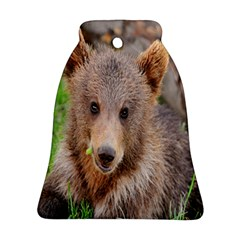 Baby Bear Animals Bell Ornament (two Sides)