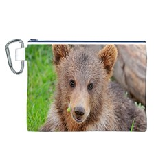 Baby Bear Animals Canvas Cosmetic Bag (l)