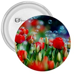 Colorful Flowers 3  Buttons