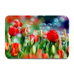 Colorful Flowers Plate Mats