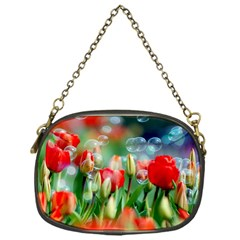 Colorful Flowers Chain Purses (one Side)