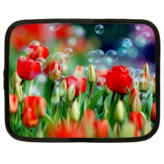 Colorful Flowers Netbook Case (xxl)