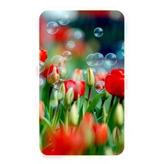 Colorful Flowers Memory Card Reader