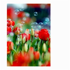 Colorful Flowers Small Garden Flag (two Sides)