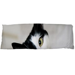 Cat Face Cute Black White Animals Body Pillow Case Dakimakura (two Sides)