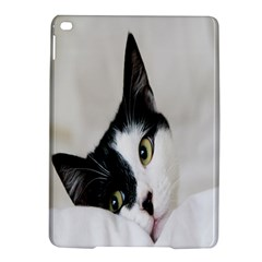 Cat Face Cute Black White Animals Ipad Air 2 Hardshell Cases