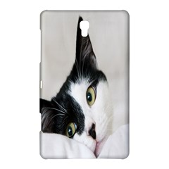 Cat Face Cute Black White Animals Samsung Galaxy Tab S (8 4 ) Hardshell Case