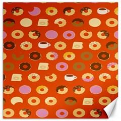 Coffee Donut Cakes Canvas 16  X 16