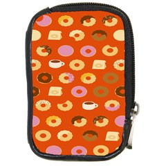 Coffee Donut Cakes Compact Camera Cases