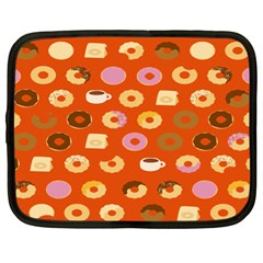 Coffee Donut Cakes Netbook Case (xl)