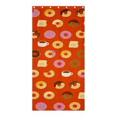 Coffee Donut Cakes Shower Curtain 36  X 72  (stall)