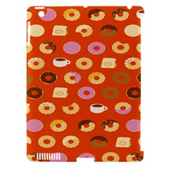 Coffee Donut Cakes Apple Ipad 3/4 Hardshell Case (compatible With Smart Cover)