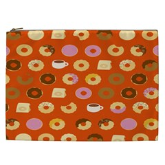 Coffee Donut Cakes Cosmetic Bag (xxl)