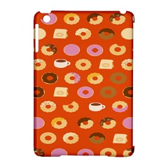 Coffee Donut Cakes Apple Ipad Mini Hardshell Case (compatible With Smart Cover)