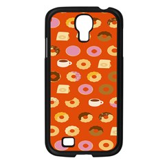 Coffee Donut Cakes Samsung Galaxy S4 I9500/ I9505 Case (black)
