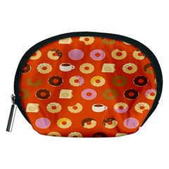 Coffee Donut Cakes Accessory Pouches (medium)