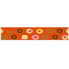 Coffee Donut Cakes Flano Scarf (large)