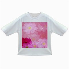 Cosmos Flower Floral Sunflower Star Pink Frame Infant/toddler T Shirts