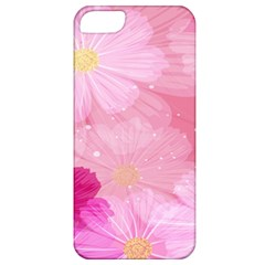 Cosmos Flower Floral Sunflower Star Pink Frame Apple Iphone 5 Classic Hardshell Case