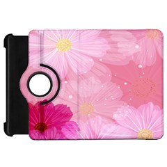 Cosmos Flower Floral Sunflower Star Pink Frame Kindle Fire Hd 7