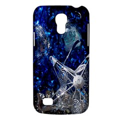 Christmas Silver Blue Star Ball Happy Kids Galaxy S4 Mini